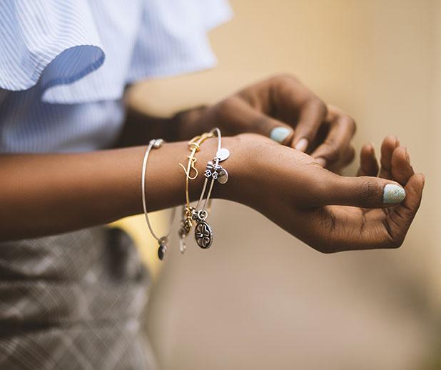 Les différents types de bracelet en argent